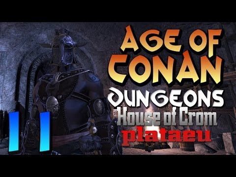 Age of Conan : House of Crom Plataeu ( Barbarian Gameplay )