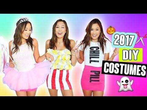 DIY HALLOWEEN COSTUMES 2017