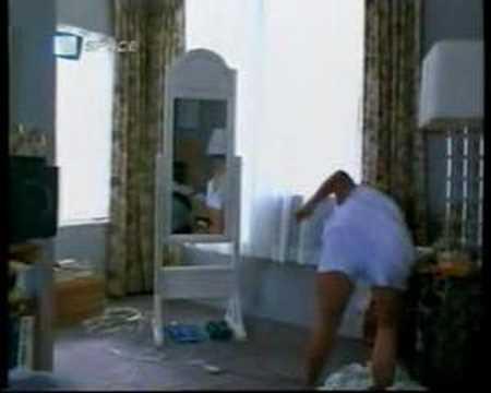 Demi Moore y el baile de la toalla