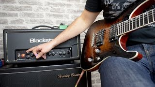 Playthrough video of the Blackstar HT-20 head using ESP Horizon NT-II for clean/crunch and the Schecter ATX C-7 for high gain. Hooked up to a Harley Benton 2x12 with V30s' miced with a single Shure SM57