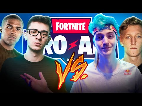 FORTNITE PRO-AM AO VIVO! Flakes E Douglas Costa!