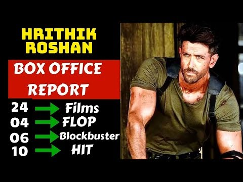 Hrithik Roshan Hit And Flop Movies List With Box Office Collection Analysis
