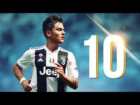 10 Outstanding GOALS In 2017/2018 - Paulo Dybala
