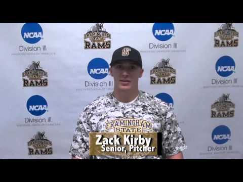 Framingham State Baseball- Zack Kirby 2/11/16