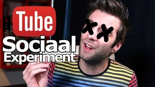 YOUTUBE SOCIAL EXPERIMENT! | Gaat Youtube Dood!?