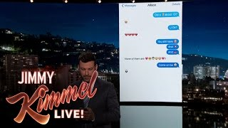 Video Jimmy Kimmel Texts His Niece About One Direction Split MP3, 3GP, MP4, WEBM, AVI, FLV September 2018