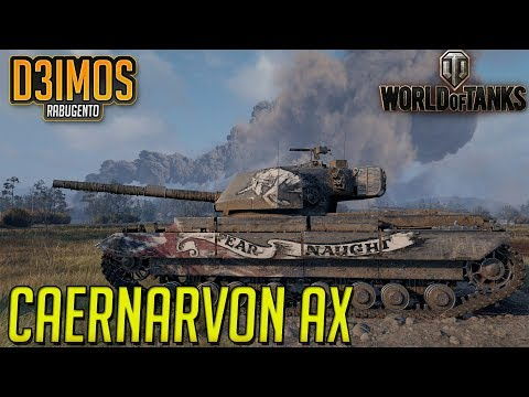 World Of Tanks: Como Ganhar O  Caernarvon AX