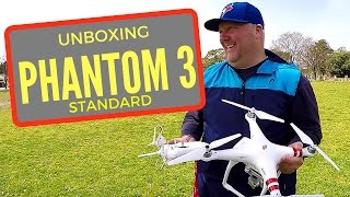 It's DJi Phantom Standard 3 Unboxing Time!
