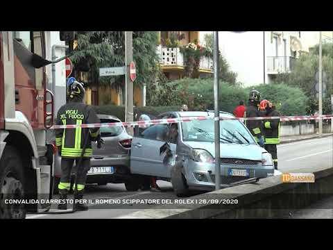 CONVALIDA D'ARRESTO PER IL ROMENO SCIPPATORE DEL ROLEX   26/09/2020