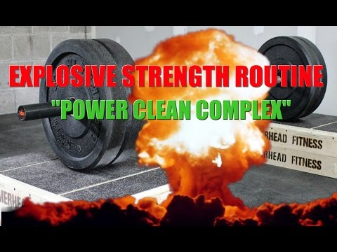 Explosiveness Workout Routine