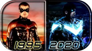 EVOLUTION of ROBIN / NIGHTWING in Live Action Movies TV series (1943-2020)🙊 Nightwing movie trailer