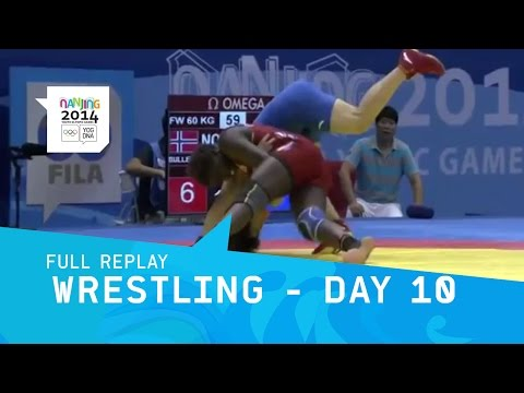Wrestling - Day 10 Freestyle Women's Finals | Full Replay | Nanjing 2014 Youth Olympic Games