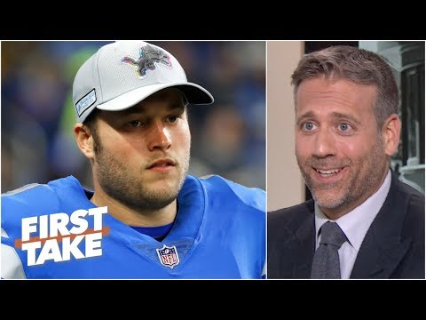Video: Matthew Stafford is overrated and he's barely a franchise QB - Max Kellerman | First Take