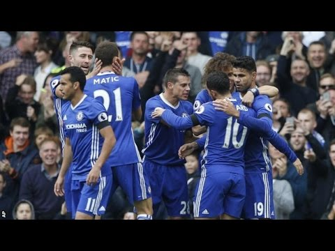 Chelsea 3-0 Leicester City All Goals & Highlights 15/10/16 (EPL 16/17)