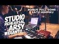 Download Lagu STUDIO REHEARSAL (Arsy Widianto) #VLOGBANG eps 6 Mp3 Free