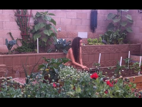 World Naked Gardening Day Is Coming May 7th