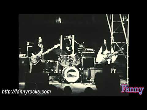 Rock Group Fanny on French TV