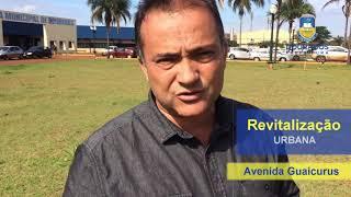Revitalização Urbana – Parque Rego D'Agua – Av Guaicurus – Av. Pres. Vargas