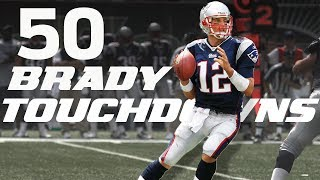 With 50 days until kickoff, here are all 50 of Tom Brady's TD passes from the 2007 season!Subscribe to NFL: http://j.mp/1L0bVBuStart your free trial of NFL Game Pass: https://www.nfl.com/gamepass?campaign=sp-nf-gd-ot-yt-3000342Sign up for Fantasy Football! http://www.nfl.com/fantasyfootballThe NFL YouTube channel is your home for immediate in-game highlights from your favorite teams and players, full NFL games, behind the scenes access and more!Check out our other channels:NFL Network http://www.youtube.com/nflnetworkNFL Films http://www.youtube.com/nflfilmsFor all things NFL, visit the league's official website at http://www.nfl.com/Watch NFL Now: https://www.nfl.com/nowListen to NFL podcasts: http://www.nfl.com/podcastsWatch the NFL network: http://nflnonline.nfl.com/Download the NFL mobile app: https://www.nfl.com/apps2016 NFL Schedule: http://www.nfl.com/schedulesBuy tickets to watch your favorite team:  http://www.nfl.com/ticketsShop NFL: http://www.nflshop.com/source/bm-nflcom-Header-Shop-TabLike us on Facebook: https://www.facebook.com/NFLFollow us on Twitter: https://twitter.com/NFLFollow us on Instagram: https://instagram.com/nfl/