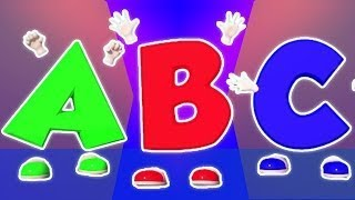 ABC Lagu Bhs Inggris   3D Pendidikan Video   3D Educational Video For Kids   ABC Song In E
