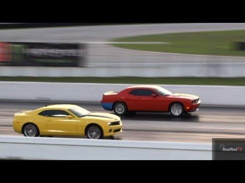 Challenger SRT 8 vs. Camaro SS