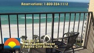 Unit 901-A Summerhouse Panama City Beach Vacation Condo