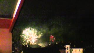 Golling an der Salzach Austria  City new picture : Fireworks at New Year in Golling-am-Salzach, Austria