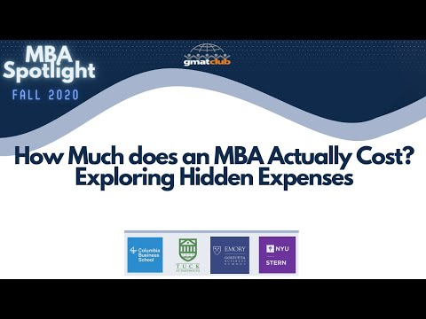 How Much an MBA Actually Costs? Exploring Hidden Expenses | Student Panel | MBA Spotlight Oct 2020