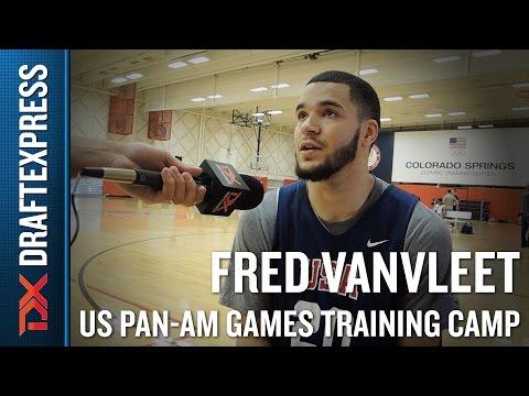 Fred VanVleet 2015 US Pan-Am Games Training Camp Interview