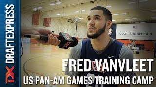 Fred VanVleet 2015 US Pan-Am Games Training Camp Interview