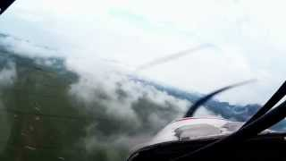 คลิปเครื่องบินพาบินชมทะเลหมอกที่กาญจนบุรี