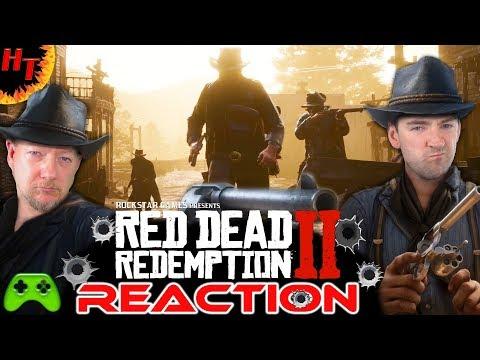 Red Dead Redemption 2 Gameplay Trailer ''REACTION''
