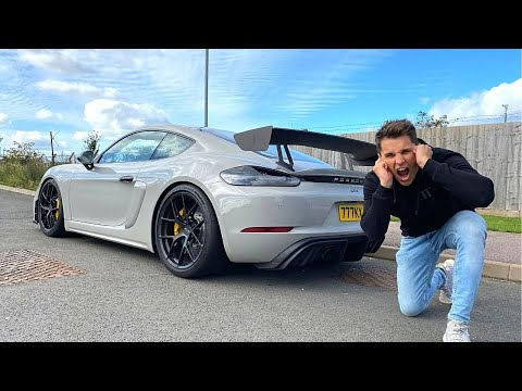 MY FRIEND STRAIGHT PIPED HIS PORSCHE GT4! *LOUD WARNING*