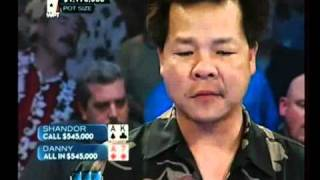 LEGENDARY Bad beat poker WPT Danny Nguyen just sick!!! epic!