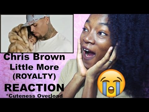 Chris Brown: Little More (Royalty) REACTION
