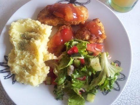 Vyriška vakarienė: Vištienos kepsneliai