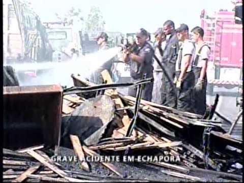 Acidente deixa quatro feridos em Echaporã