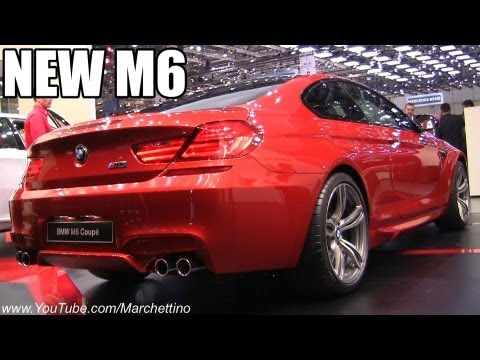BMW  Женевский автосалон 2012 BMW M6 F12 Coupe 2013