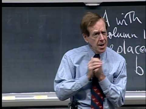 Lec 20 | MIT 18.06 Linear Algebra, Spring 2005
