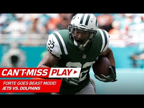Video: Forte Goes Beast Mode on 3rd & Long Setting Up Anderson's TD Catch!   Can't-Miss Play   NFL Wk 7