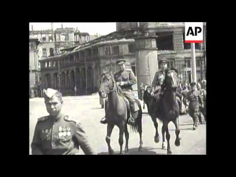 1945: Leipzig, Germany - 111 ADC 4935, 05 Jul 1945, b ...