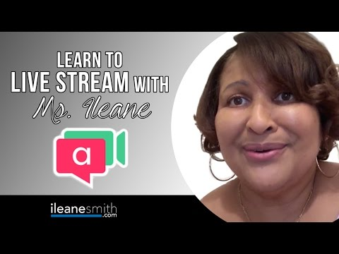 Watch 'How to Live Stream to a Small Group Using Appear.in'