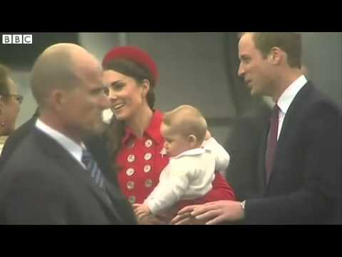 Kate And William Arrive In New Zealand