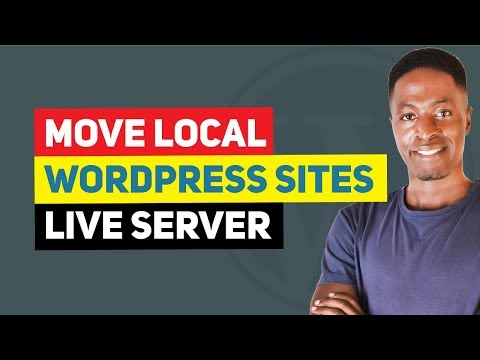 WordPress Tutorial: How To Move Local WordPress Site To A Live Server (WPvivid Backup Plugin)