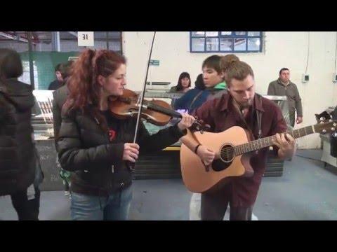 Música celta en la feria