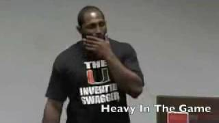 Ray Lewis Motivational Speech to Hurricanes Players - YouTube