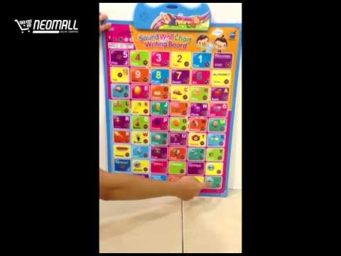 Learning Sound Chart and Writing Board