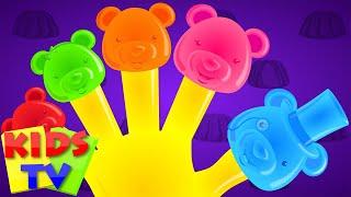 Jelly bears Finger family | nursery rhymes kids tv | finger family kids | finger family rhyme
