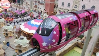 Ningbo China  City new picture : Romon-U Park Monorail, Ningbo China 宁波 单轨