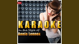 Walking On Broken Glass (In The Style Of Annie Lennox) (Karaoke Version)